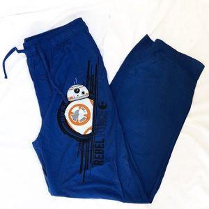 Star Wars pajama pants, BB-8, men size medium